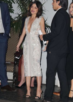 Lucy Hale - Entertainment Weekly Party at the Chateau Marmont in LA