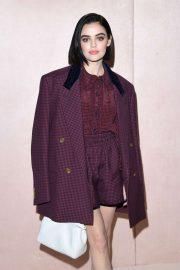 Lucy Hale - Fendi show at Milan Fashion Week 2020