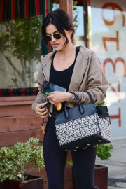 Lucy Hale - Going to the Shape House in Studio City