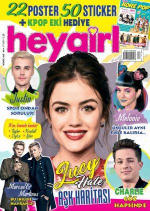 Lucy Hale - Hey Girl Magazine (April 2018)
