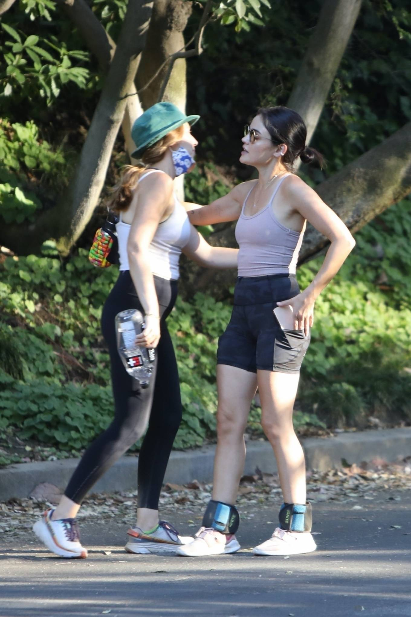 Lucy Hale 2020 : Lucy Hale – Hike at Fryman Canyon in Studio City -06