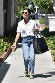 Lucy Hale in Jeans - Out in Los Angeles