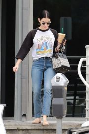 Lucy Hale in Jeans - Out in Studio City