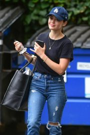 Lucy Hale in Ripped Jeans - Out in Studio City