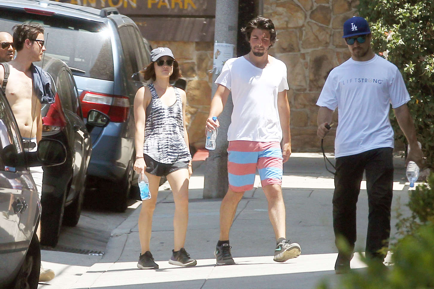 Lucy Hale 2015 : Lucy Hale in Shorts -01