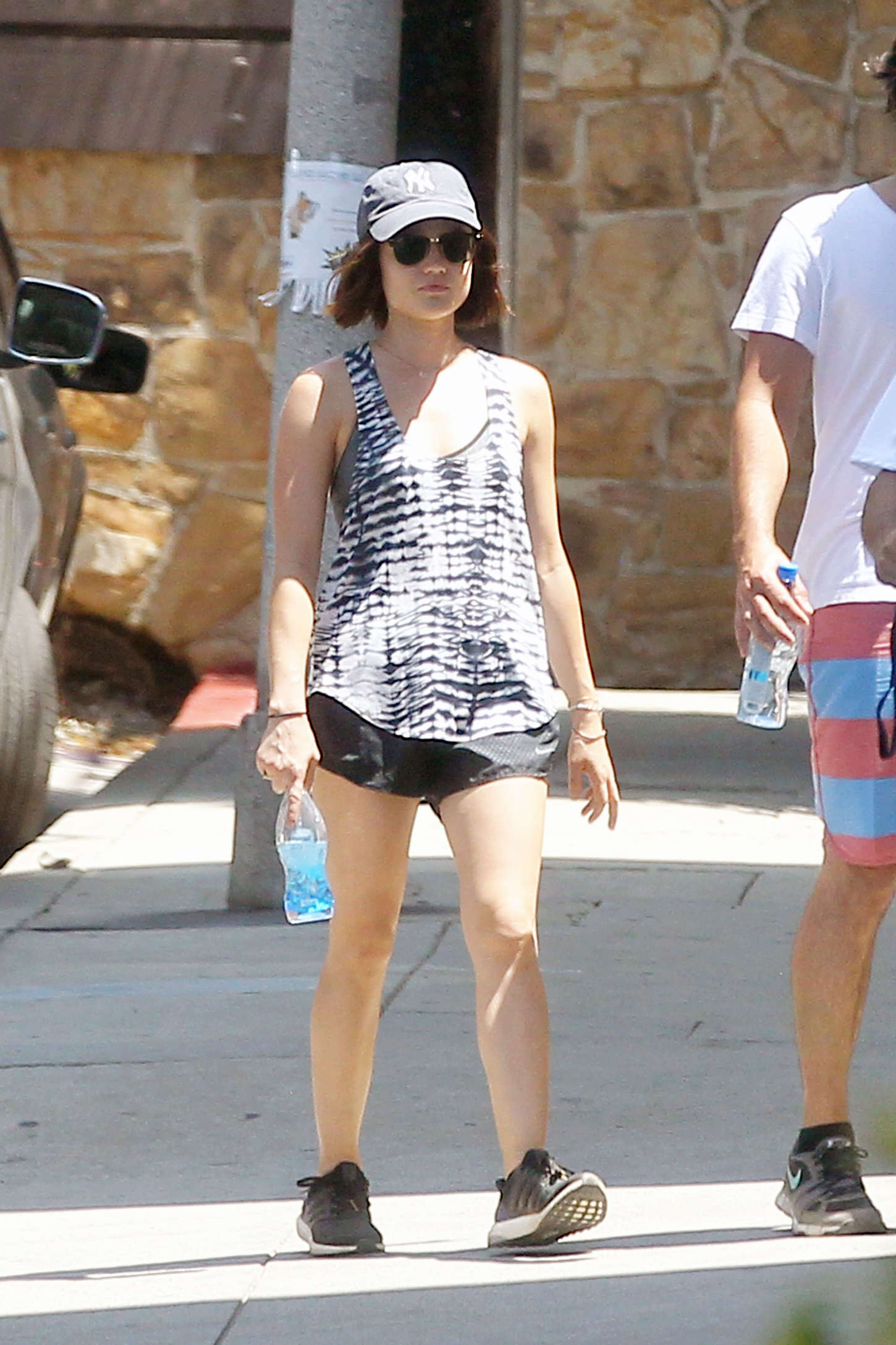 Lucy Hale 2015 : Lucy Hale in Shorts -02