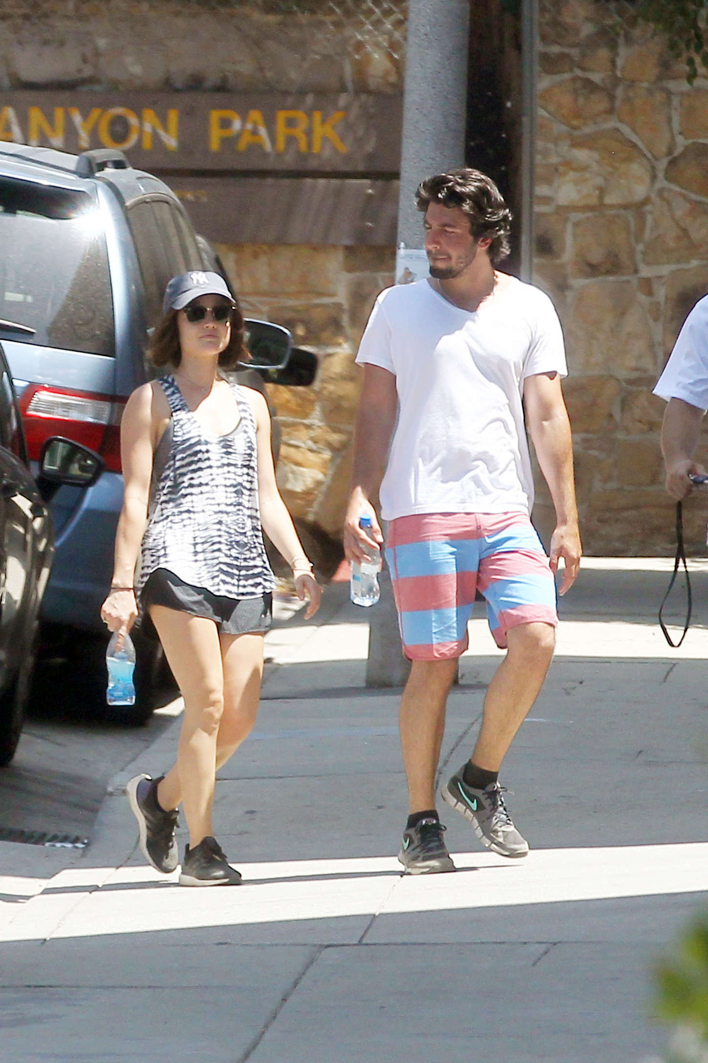Lucy Hale 2015 : Lucy Hale in Shorts -05