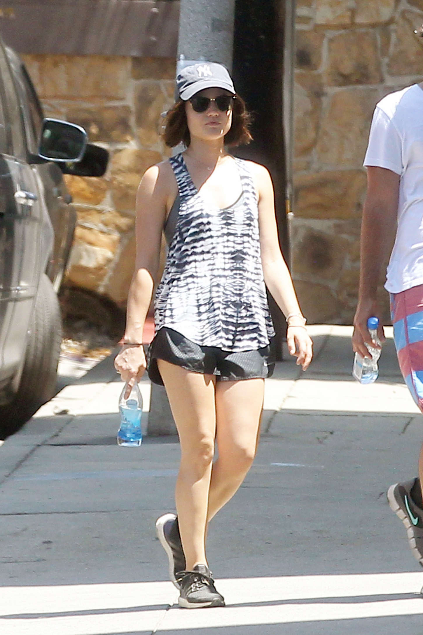 Lucy Hale 2015 : Lucy Hale in Shorts -09