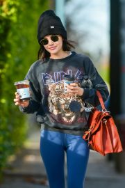 Lucy Hale - In tight jeans out in Los Angeles
