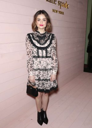 Lucy Hale - Kate Spade Presentation Show 2018 in NYC