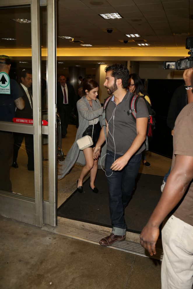 Lucy Hale: LAX Airport in Los Angeles -23