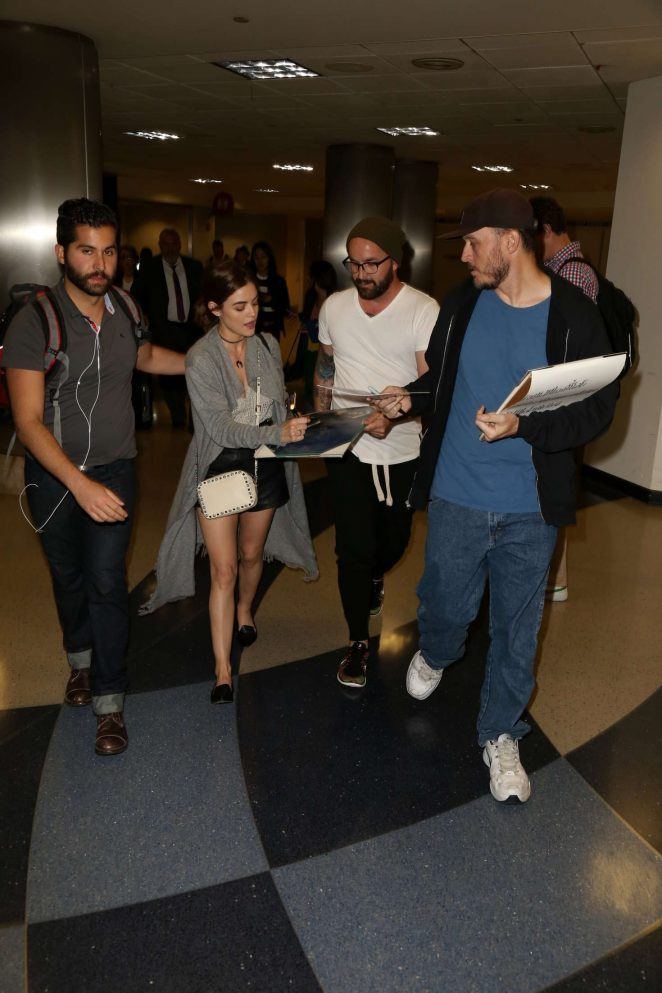 Lucy Hale: LAX Airport in Los Angeles -24