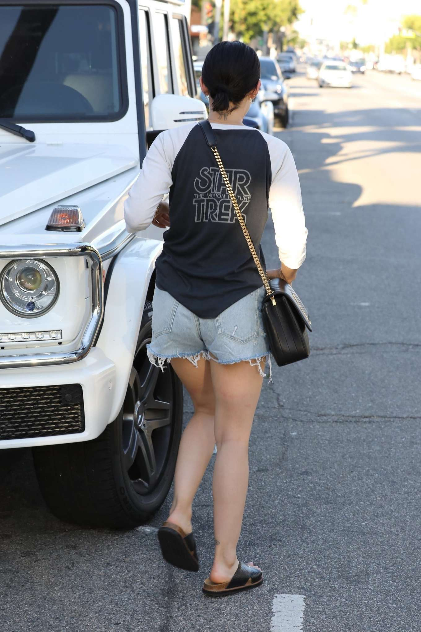 Lucy Hale 2019 : Lucy Hale – Leaves a spa in Los Angeles-02