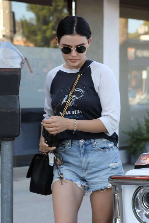 Lucy Hale 2019 : Lucy Hale – Leaves a spa in Los Angeles-15