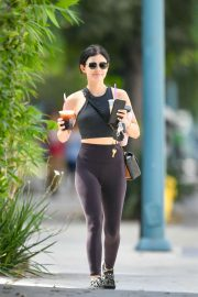 Lucy Hale - Looking cute while out in Los Angeles