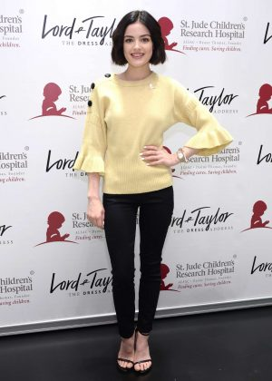 Lucy Hale - Lord & Taylor Celebrates Charity Days: Let's Do Something Good Together