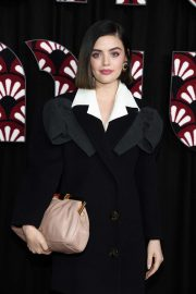Lucy Hale - Miu Miu Fashion Show in Paris