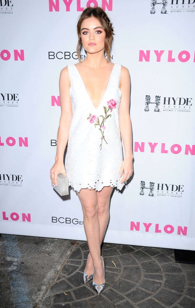 Lucy Hale - NYLON Young Hollywood Party 2016 in LA adds