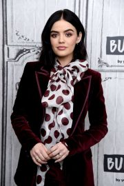 Lucy Hale - On Build Series in New York