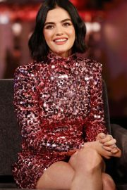 Lucy Hale - on 'Jimmy Kimmel Live' in Hollywood