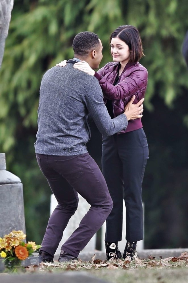 Lucy Hale: On Life Sentence set -05
