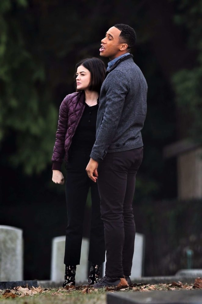 Lucy Hale: On Life Sentence set -38