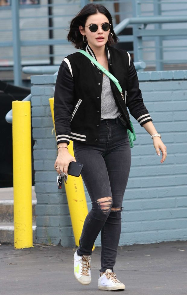 Lucy Hale - Out and about in LA