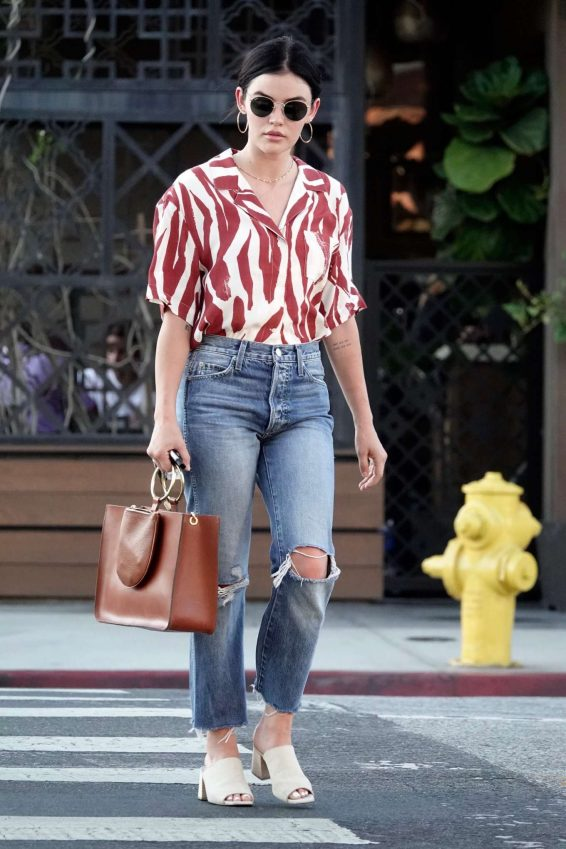 Lucy Hale - Out and about in Los Angeles