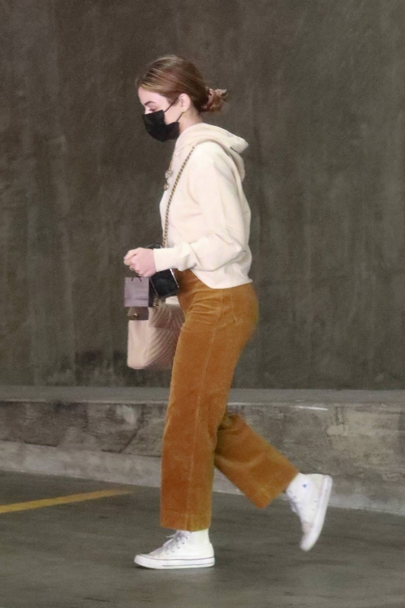 Lucy Hale 2021 : Lucy Hale – Out for a shopping at the Jewelry Store in Downtown Los Angeles-06