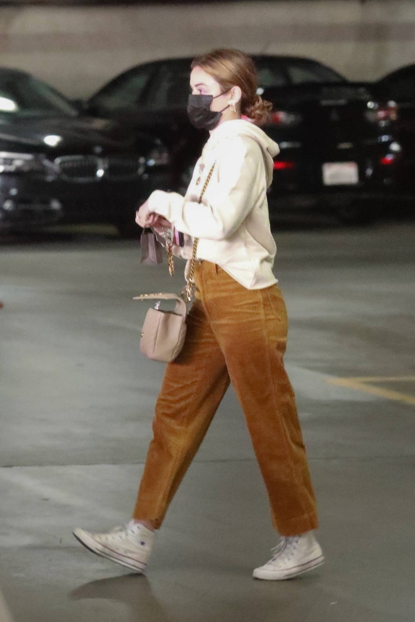 Lucy Hale - Out for a shopping at the Jewelry Store in Downtown Los Angeles