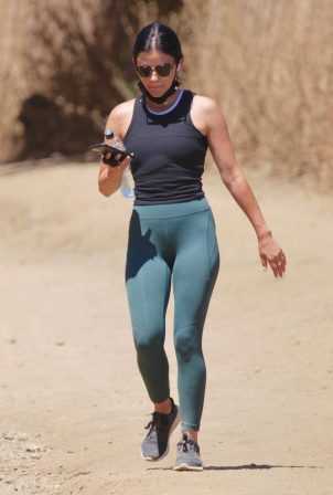 Lucy Hale - Out for an afternoon hike in Los Angeles