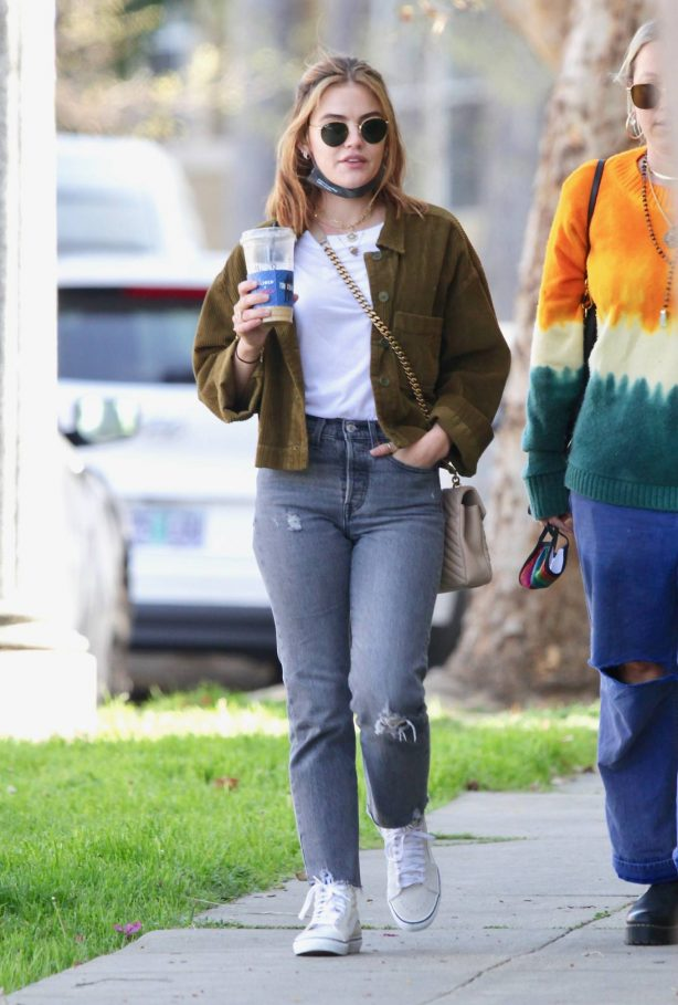 Lucy Hale - Out in Los Angeles