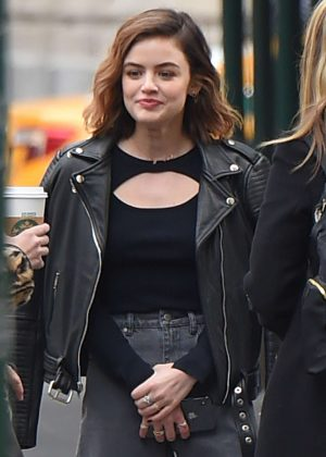 Lucy Hale - Out in New York City