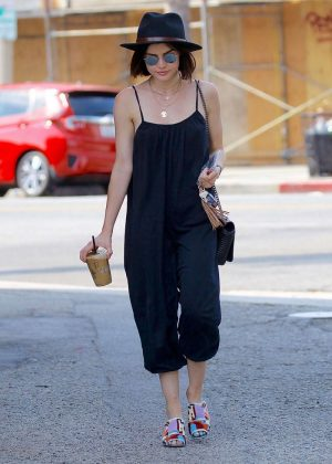 Lucy Hale - Out In Studio City