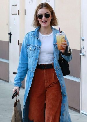 Lucy Hale – Out in Studio City