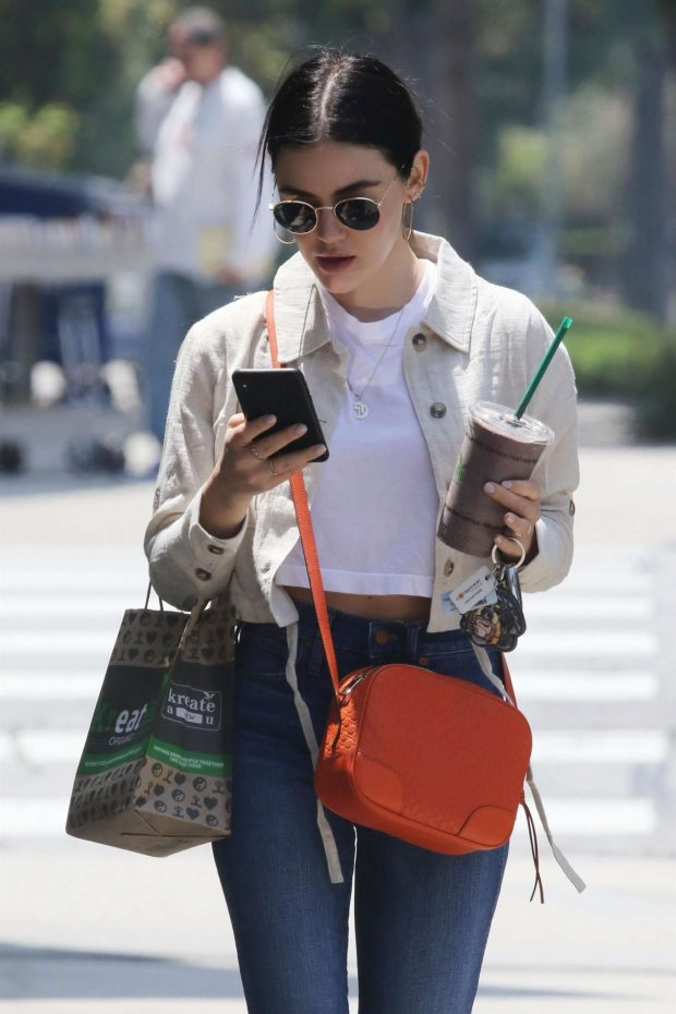 Lucy Hale - Out Los Angeles