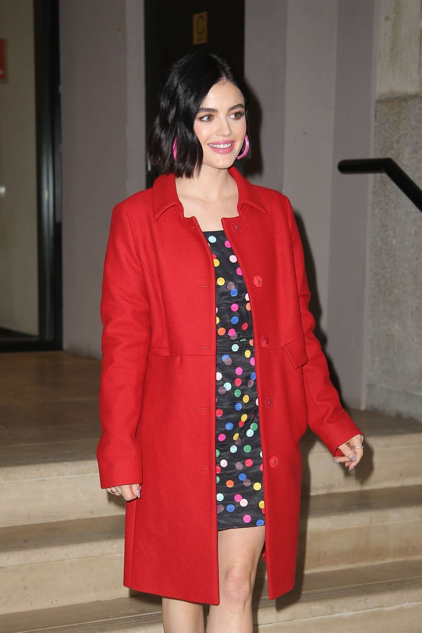 Lucy Hale 2020 : Lucy Hale – Pictured on BuzzFeeds AM To DM in NYC-03
