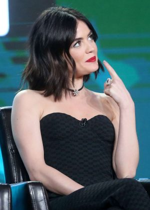 Lucy Hale - 'Pretty Little Liars' Panel at TCA Winter Press Tour in Pasadena