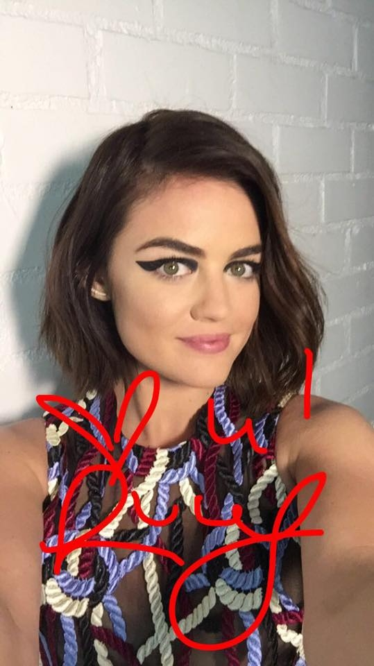 Lucy Hale - Refinery29 Photoshoot 2015 (Behind the Scenes)