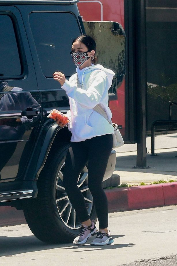 Lucy Hale - Running errands in Los Angeles