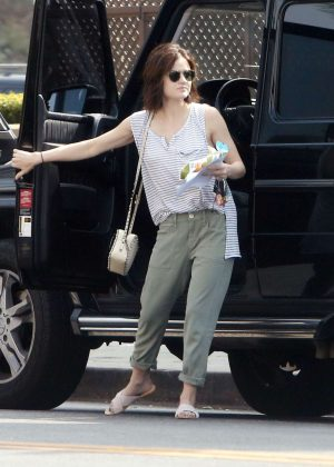 Lucy Hale - Seen Out in LA