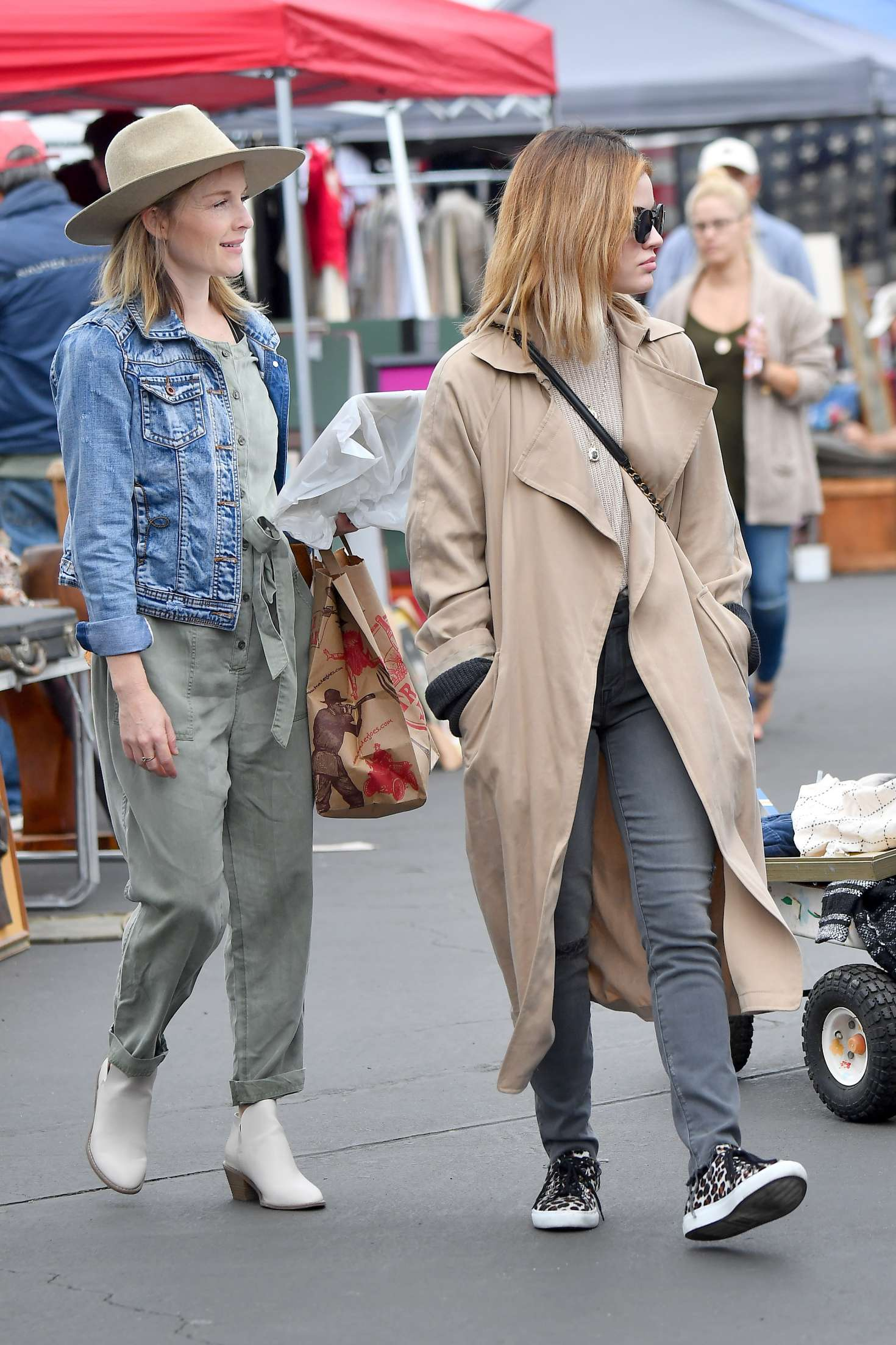 Lucy Hale 2018 : Lucy Hale: Shopping at a Local Flea Market -09