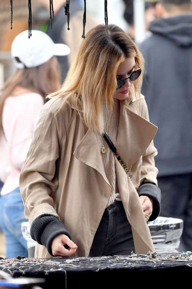 Lucy Hale 2018 : Lucy Hale: Shopping at a Local Flea Market -10