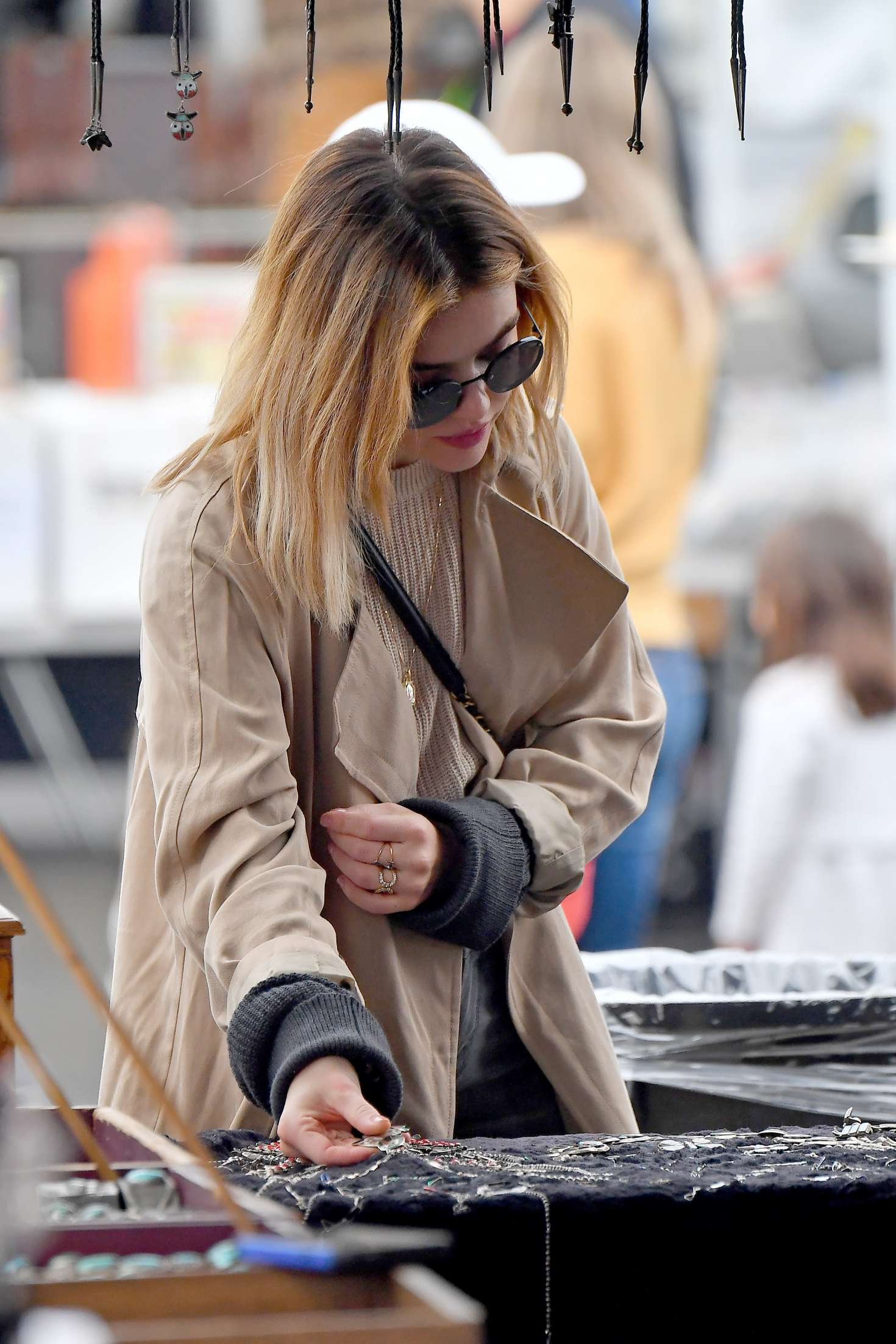 Lucy Hale 2018 : Lucy Hale: Shopping at a Local Flea Market -12
