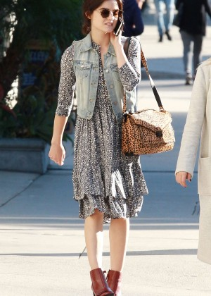 Lucy Hale - Shopping at Kitson in Beverly Hills