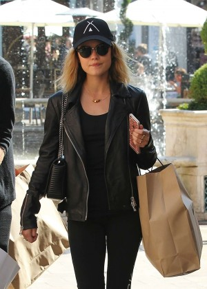 Lucy Hale - Shopping at The Grove in Los Angeles