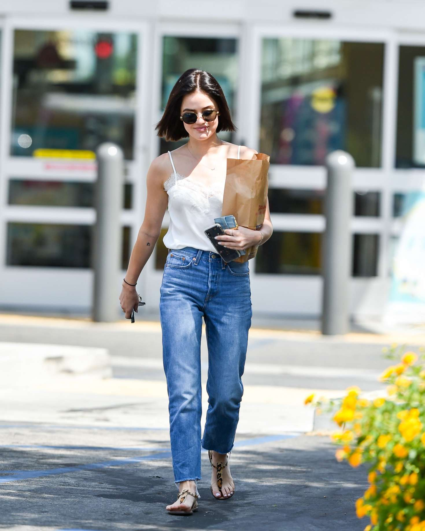 Lucy Hale 2018 : Lucy Hale: Shopping at Walgreens in Los Angeles -03