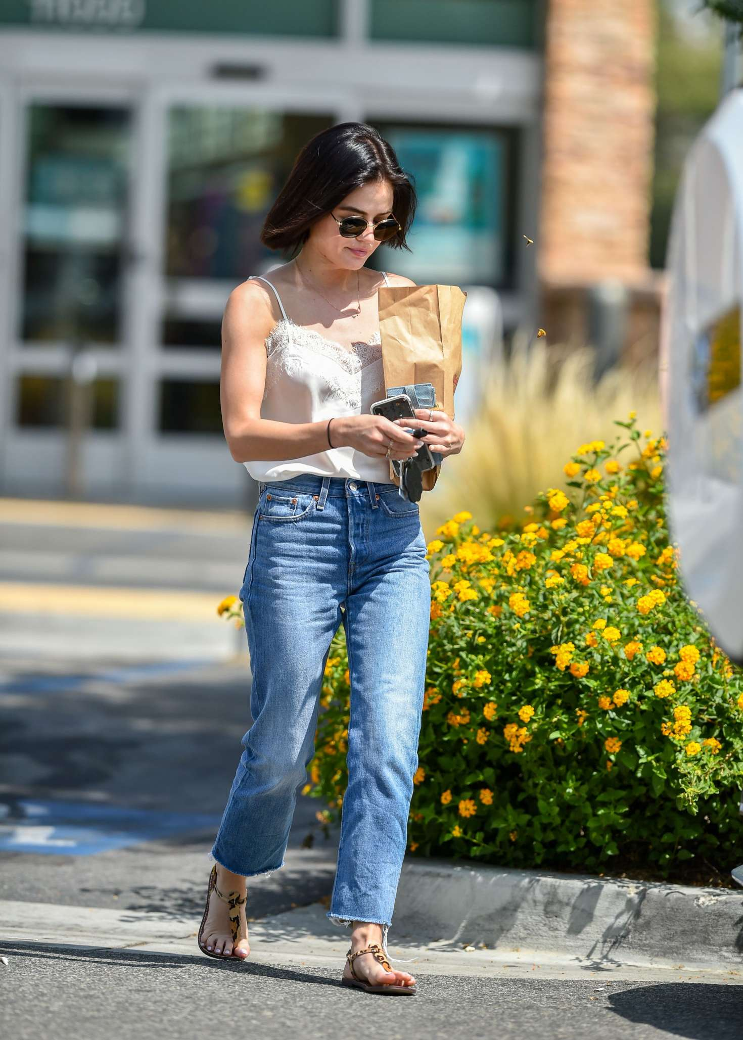 Lucy Hale 2018 : Lucy Hale: Shopping at Walgreens in Los Angeles -06