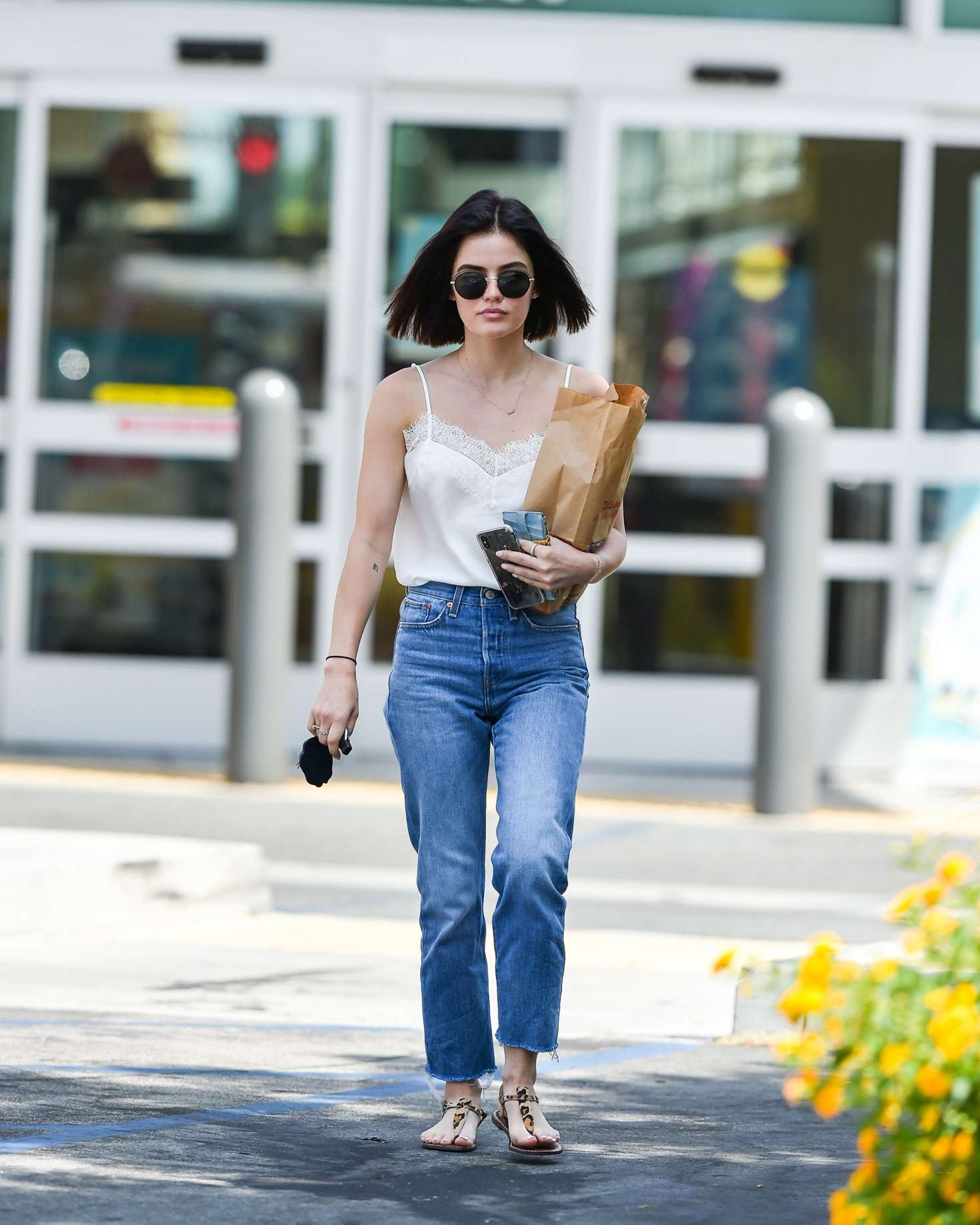 Lucy Hale 2018 : Lucy Hale: Shopping at Walgreens in Los Angeles -12