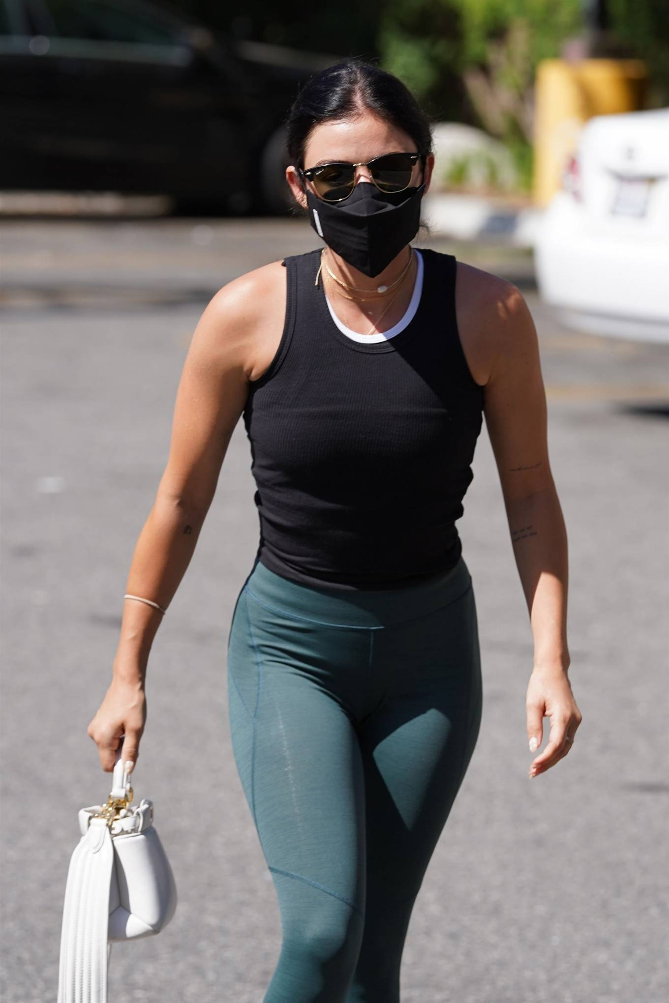 Lucy Hale - Shops at Walgreens in Studio City